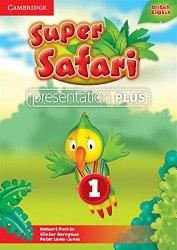 Super Safari 1 Presentation Plus DVD-ROM / Ресурси для інтерактивної дошки