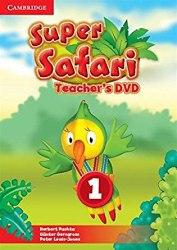 Super Safari 1 Teacher's DVD / DVD диск