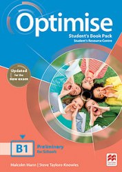 Optimise B1 Student's Book Pack (Updated for the New Exam) / Підручник для учня