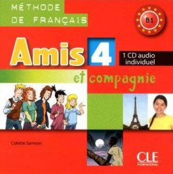Amis et compagnie 4 CD audio individuel Cle International