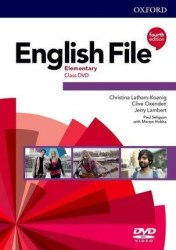 English File (4th Edition) Elementary Class DVDs / DVD диск