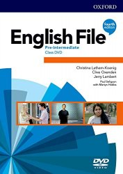 English File (4th Edition) Pre-Intermediate Class DVDs / DVD диск