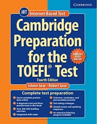 Cambridge Preparation for the TOEFL Test iBT (4th Edition) with Online Practice Tests and Audio CDs
