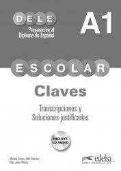 DELE Escolar A1 Claves + CD Audio / Брошура з відповідями