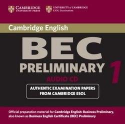 Cambridge BEC 1 Preliminary Audio CD / Аудіо диск