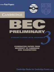 Cambridge BEC 3 Preliminary Student's Book with answers and Audio CD / Підручник для учня