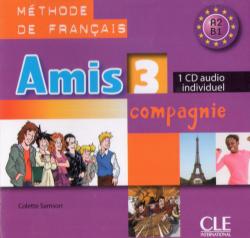 Amis et compagnie 3 CD audio individuel / Аудіо диск