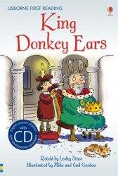 Usborne First Reading 2 King Donkey Ears + CD