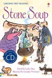Usborne First Reading 2 Stone Soup + CD