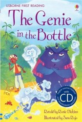 Usborne First Reading 2 The Genie in the Bottle + CD