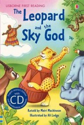 Usborne First Reading 3 Leopard and the Sky God + CD