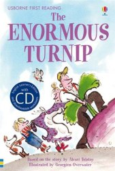 Usborne First Reading 3 The Enormous Turnip + CD