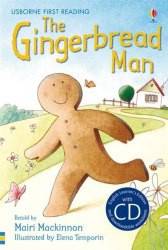 Usborne First Reading 3 The Gingerbread Man + CD