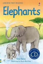 Usborne First Reading 4 Elephants + CD