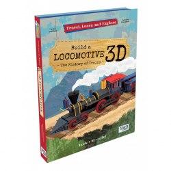 Travel, Learn and Explore: Build a Locomotive 3D / Набір для творчості