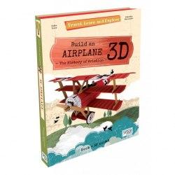 Travel, Learn and Explore: Build an Airplane 3D / Набір для творчості