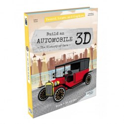 Travel, Learn and Explore: Build an Automobile 3D / Набір для творчості