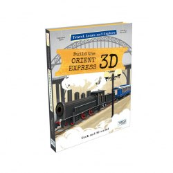 Travel, Learn and Explore: Build the Orient Express 3D / Набір для творчості