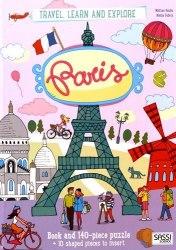 Travel, Learn and Explore: Paris Book + Puzzle / Книга з пазлом