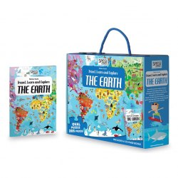 Travel, Learn and Explore: The Earth Book + Puzzle / Книга з пазлом