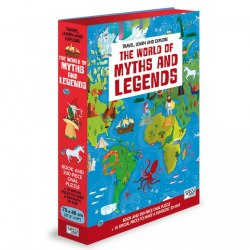 Travel, Learn and Explore: The World of Myths and Legends Book + Puzzle / Книга з пазлом