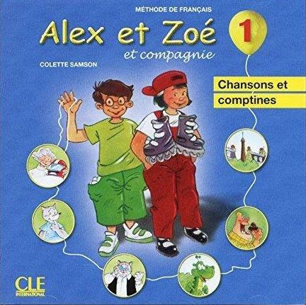 Alex et Zoé Nouvelle Édition 1 CD audio individuel (chansons et comptines) / Аудіо диск
