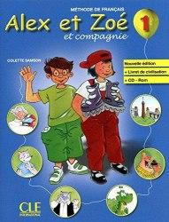 Alex et Zoé Nouvelle Édition 1 Méthode de Français — Livre de l'élève avec Livret de Civilisation avec CD-ROM / Підручник для учня