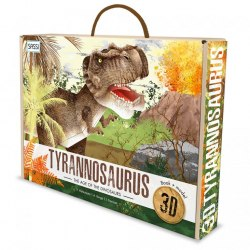 The Age of The Dinosaurs: Tyrannosaurus 3D / Набір для творчості