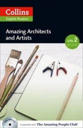 Amazing People Club Amazing Architects & Artists with Mp3 CD Level 2