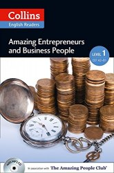 Amazing People Club Amazing Entrepreneurs & Business People with Mp3 CD Level 1
