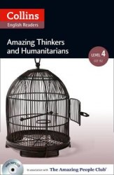 Amazing People Club Amazing Thinkers & Humanitarians with Mp3 CD Level 4