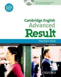 Cambridge English: Advanced Result Teacher's Pack with DVD / Підручник для вчителя