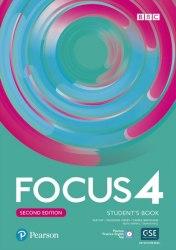 Focus 4 Second Edition Student's Book / Підручник для учня