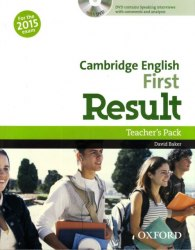 Cambridge English: First Result Teacher's Pack with DVD / Підручник для вчителя