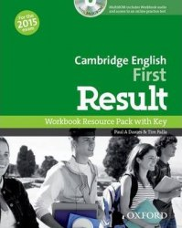 Cambridge English: First Result Workbook Resource Pack with key and MultiROM / Робочий зошит