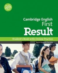 Cambridge English: First Result Student's Book and Online Practice / Підручник для учня