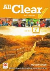 All Clear 7 Student's Book for Ukraine Macmillan / Підручник для учня