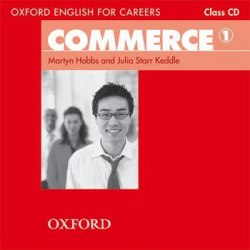 Oxford English for Careers: Commerce 1 Class CD / Аудіо диск