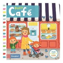 Busy: Café / Книга з рухаючими елементами