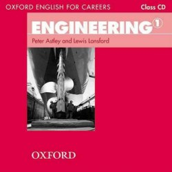 Oxford English for Careers: Engineering 1 Class CD / Аудіо диск