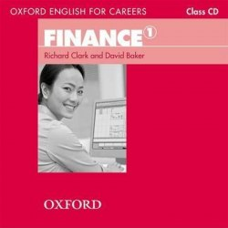 Oxford English for Careers: Finance 1 Class CD / Аудіо диск