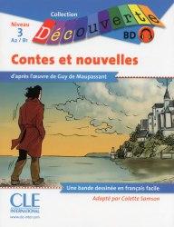 Collection Decouverte 3: Contes et Nouvelles de Maupassant Livre + CD audio