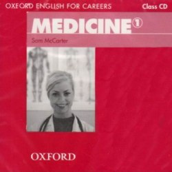 Oxford English for Careers: Medicine 1 Class CD / Аудіо диск