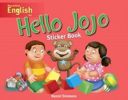Hello Jojo Sticker Book / Книга з наклейками