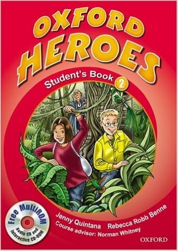 Oxford Heroes 2 Student's Book / Multi-Rom / Підручник для учня