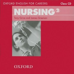 Oxford English for Careers: Nursing 2 Class CD / Аудіо диск
