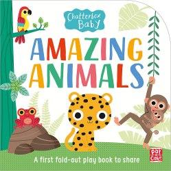 Chatterbox Baby: Amazing Animals / Книга з тактильними відчуттями