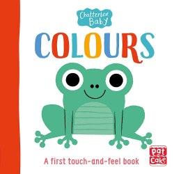 Chatterbox Baby: Colours / Книга з тактильними відчуттями