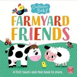 Chatterbox Baby: Farmyard Friends / Книга з тактильними відчуттями