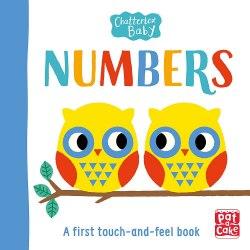 Chatterbox Baby: Numbers / Книга з тактильними відчуттями